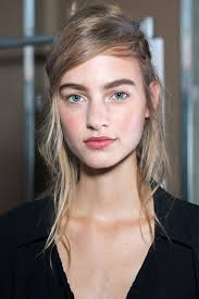 the best beauty looks from nyfw spring 2017 runway hair and makeup spring 2017