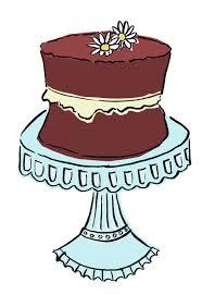 pin Drawn chocolate vintage cake #2