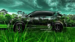 nissan juke r crystal nature car