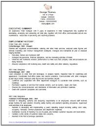 Standard Resume Format | Resume Format And Resume Maker