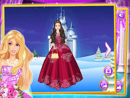 play free new barbie dress up games
