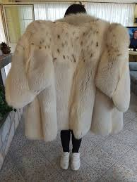 beautiful fox fur coat haute couture