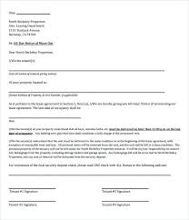 Free Sample Day Rental Termination Letter Format 60 Notice Template ...