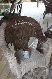 colored wicker patio furniture