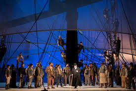 in performance east coast premiere of moby dick at washington sybaritic singer