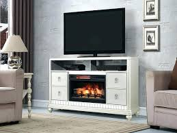 diva electric fireplace tv stand in platinum silver electric electric fireplaces tv stands electric fireplace tv