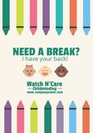 Babysitter Flyer Maker Customize 20 Babysitting Templates To Make Your Life Easier