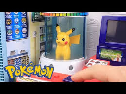 Pokemon Center Vending Machine Simple Pokemon GO Surprise Eggs Toys Slime Clay With Pokemon Center Playset