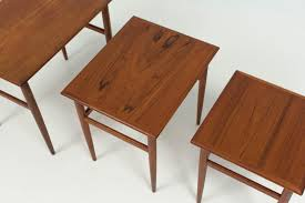neoteric 21 mid century modern nesting tables mid