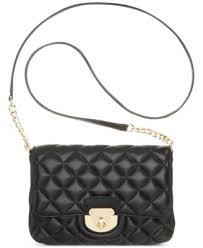 Calvin Klein Quilted Lamb Crossbody - Handbags & Accessories - Macy's &  Adamdwight.com