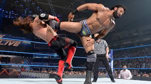 Image result for Jinder Mahal vs. AJ Styles