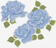 Blue Roses|17|3098 | Розы и Винтаж