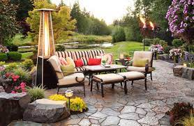 use tiki torches to light up the outdoors