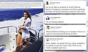 Mischa barton is the latest celebrity to express shock and sadness at the murder of alton sterling. Mischa Barton In Bizarre Alton Sterling Solidarity Post On Instagram Daily Mail Online