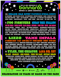 All festivals are owned and operated independently, but are united through membership in the cfa. Bonnaroo Music Arts Festival Manchester Tn September 2 5 2021