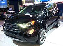 2018 ford ecosport. wonderful ford 2018 ford ecosport facelift inside ford ecosport
