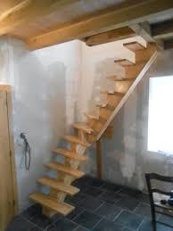 Escalier Bois Quart Tournant Leroy Merlin Exterieur Rampe Brico