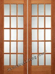 French Doors Interior