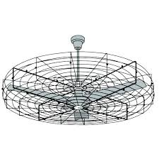 flush mount caged ceiling fan. Ceiling Fans:Caged Fan Caged Outdoor Fans Inch Industrial Forge Cage Flush Mount H
