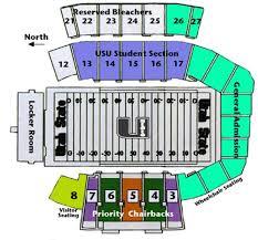 Usu Football Stadium Seating Chart Utah State Aggies 2014 Football Schedule