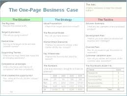 Simple Business Case Templates Simple Business Case Template Emailers Co