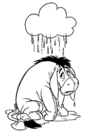 eeyore coloring pages eeyore also appears in the winnie the pooh cartoons popularized by disney studios he was originally d by ralph wright