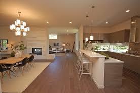 modern great room with crate and barrel delta 30 aluminum bar stool hardwood floors aluminum crate barrel