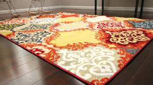 red blue yellow rugs area rug ideas