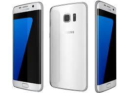 white samsung galaxy phones. samsung galaxy s7 edge white 3d model phones