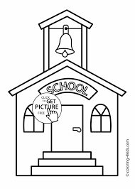 Small Picture Pages Free School Coloring Pages Printable School Bus Coloring