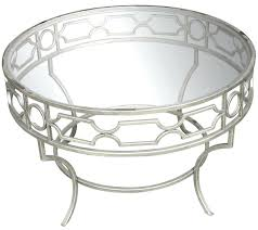 round silver coffee table nz