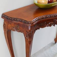 luck hand carved wood console table wood console table18