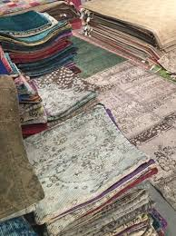 vintage overdye and patchwork rugs are the specialty of capa sophisticated construction with 100 wool made in stan dozens of colors and choices