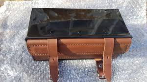leather steel vintage style toolbox premium quality