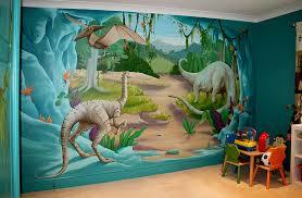 dinosaur themed wall art