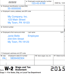 Understanding Your Forms W 2 Wage Tax Statement Taxgirl