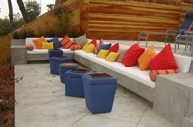 bright coloured furniture bright colour patio contemporary with built ins patio furniture chaise lounge bright coloured furniture
