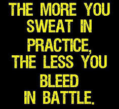 Practice Quotes Fascinating TheMoreYouSweatInPracticeMotivationalLoveQuotes Inspired