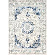 verona blue 9 ft x 12 ft area rug