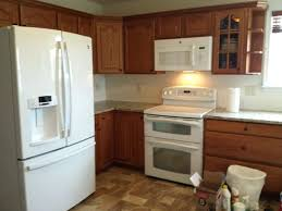 white ice appliances laminate flooring kitchen contemporary with sweet truffle granite counter tops kitchens a58 appliances