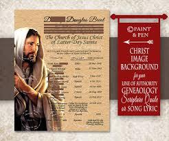 Priesthood Line Of Authority Print Lds Print Church Print