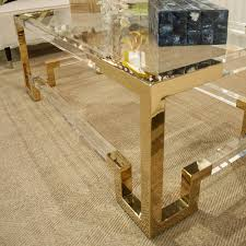 worlds away rectangular acrylic coffee table brass scenario home for tables remodel 6