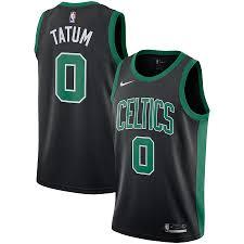 He has a total of 42 badges. Jayson Tatum Boston Celtics Nike Replica Swingman Jersey Statement Edition Black Complete Boston Sports