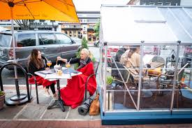 Setting including large windows overlooking lombard street as well as outdoor seating. Where To Eat And Drink Outdoors As It Gets Colder In D C The Washington Post