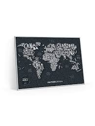 Cкретч <b>карта мира</b> Travel Map. Letters <b>1DEA</b>.<b>me</b> 6358119 в ...