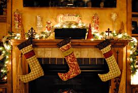 Interior Charming Christmas Mantel Decor For Decorating A Holiday Christmas Fireplace Mantel
