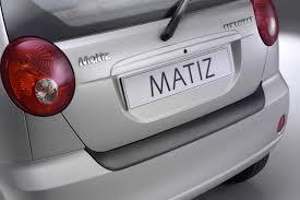 Chevrolet Matiz (M200) bumper protector - black | Car Parts Expert