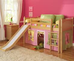 loft with slide. girls twin loft bed with slide s
