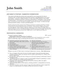 Marketing coordinator resume and get ideas to create your resume with the  best way 2