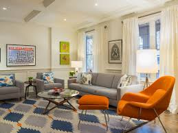 Orange Rug Living Room Unbelievable How To Arrange Living Room Living Room White L Shaped